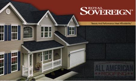 royal sovereign asphalt shingles